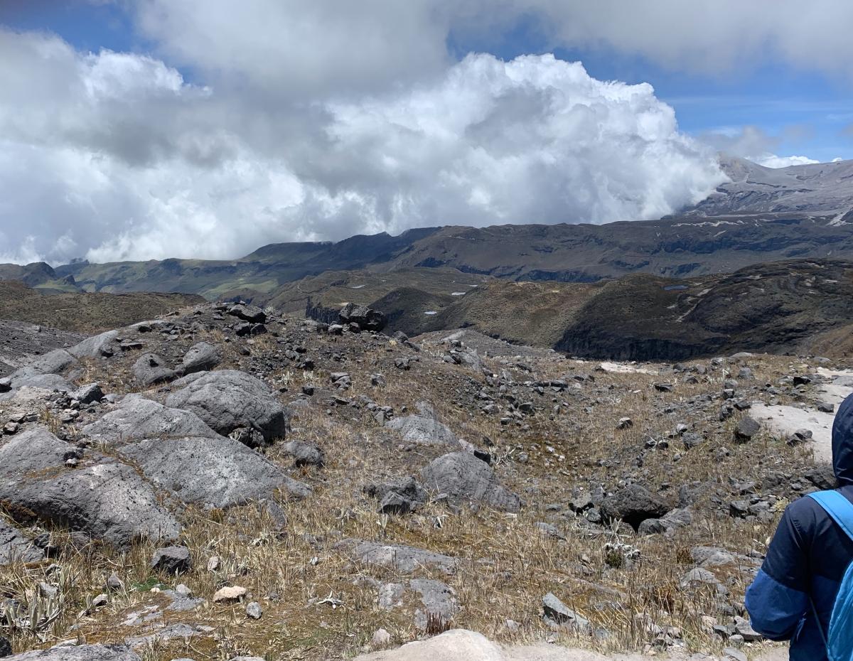 Subida al nevado de SantaIsabel